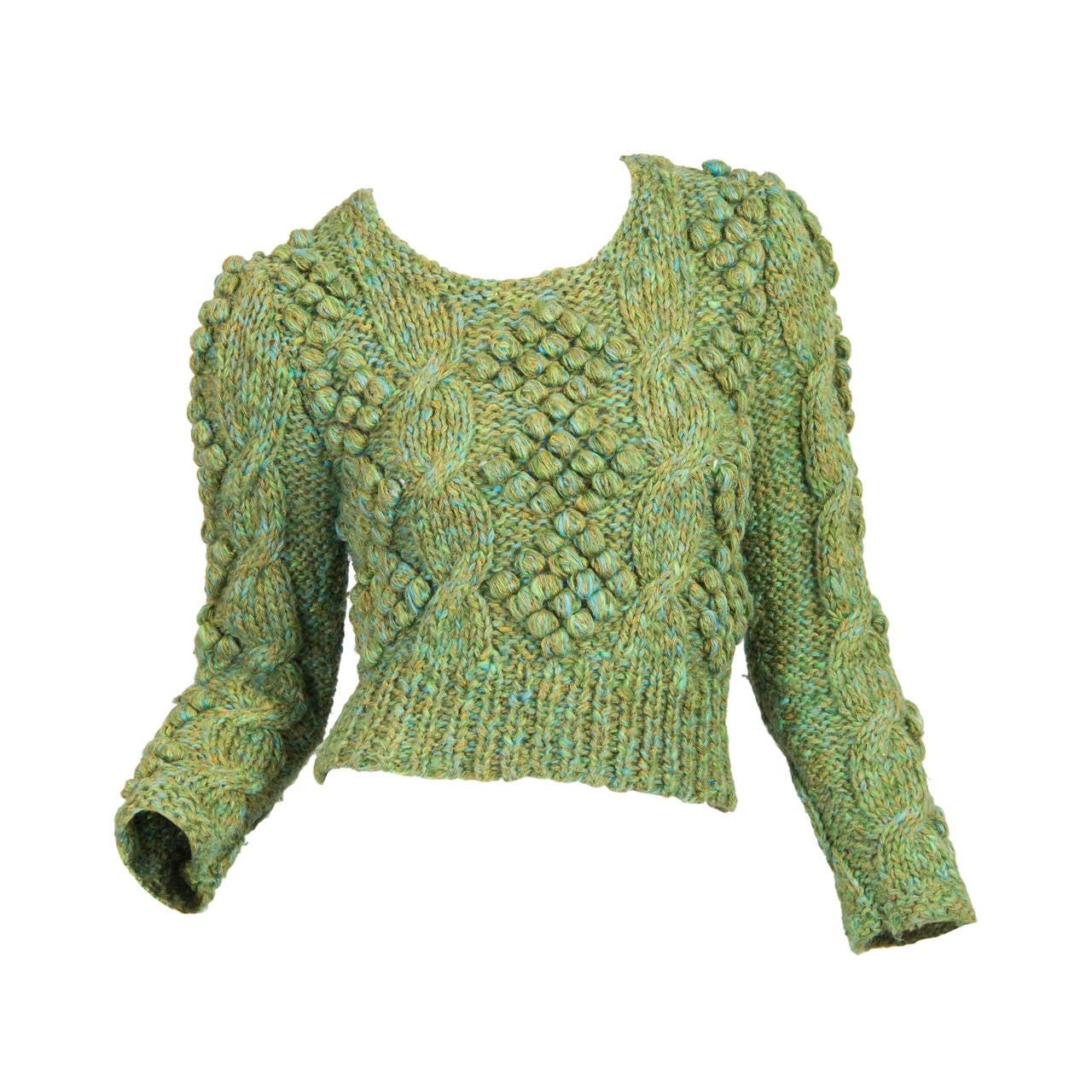 Early Kansai Yammamoto Sweater For Sale