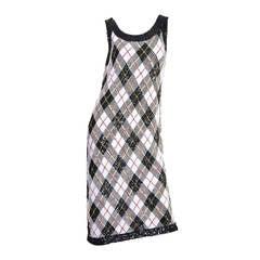 1990s Jean Paul Gaultier Fully Beaded Dress