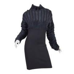 Cozy 1990s Alaia Dress