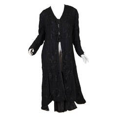 Late-Edwardian Net and Embroidery Lace Coat