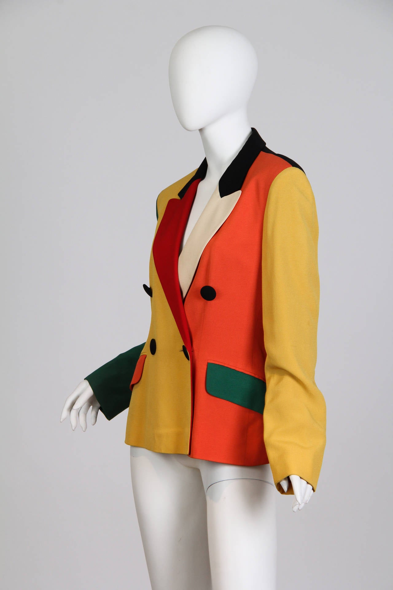 Moschino Colour-Blocked Blazer 3