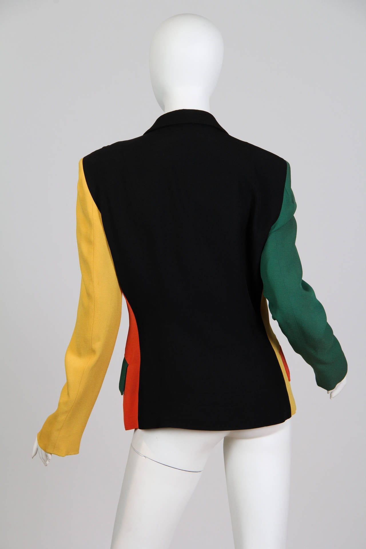 Moschino Colour-Blocked Blazer 5