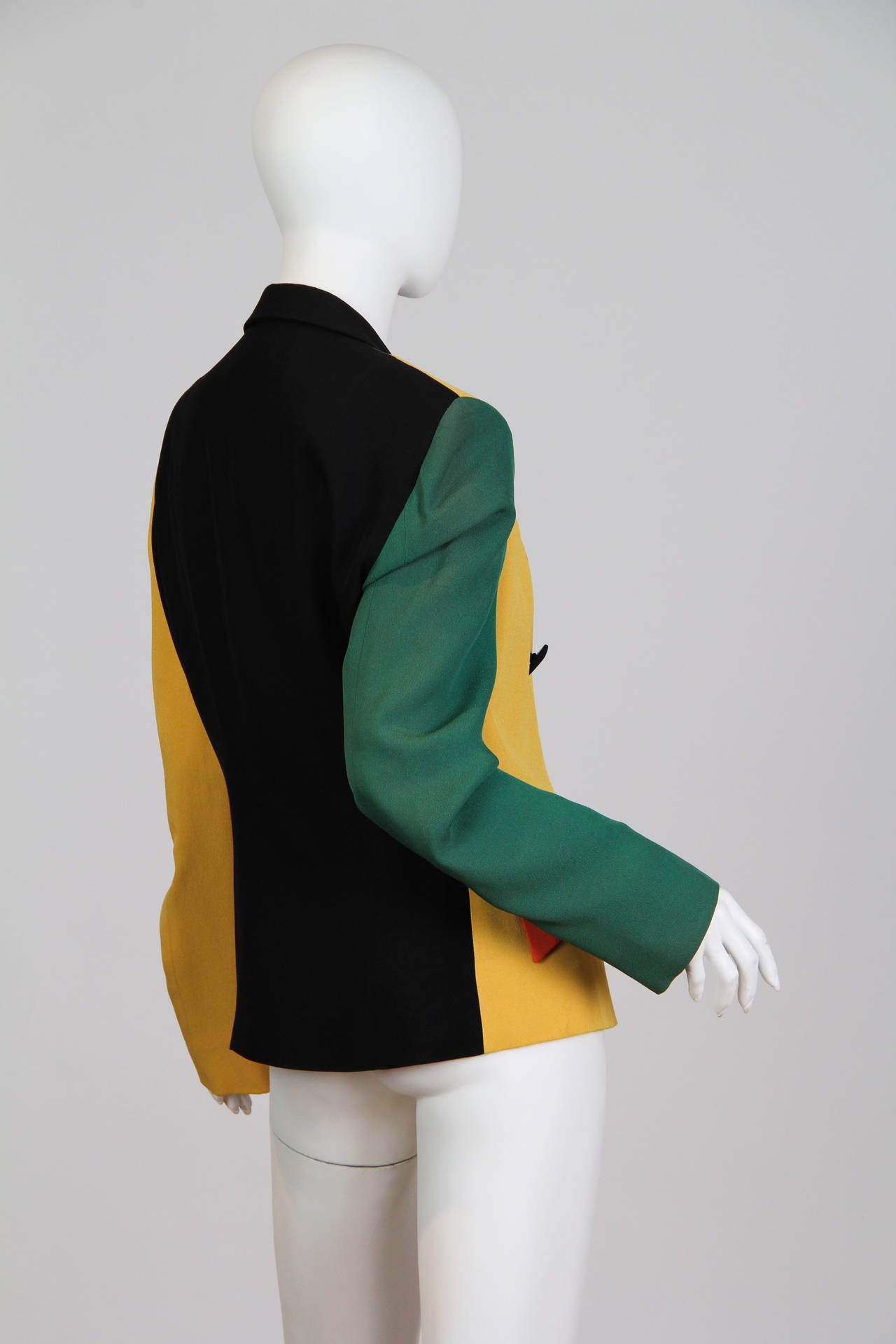 Moschino Colour-Blocked Blazer 4