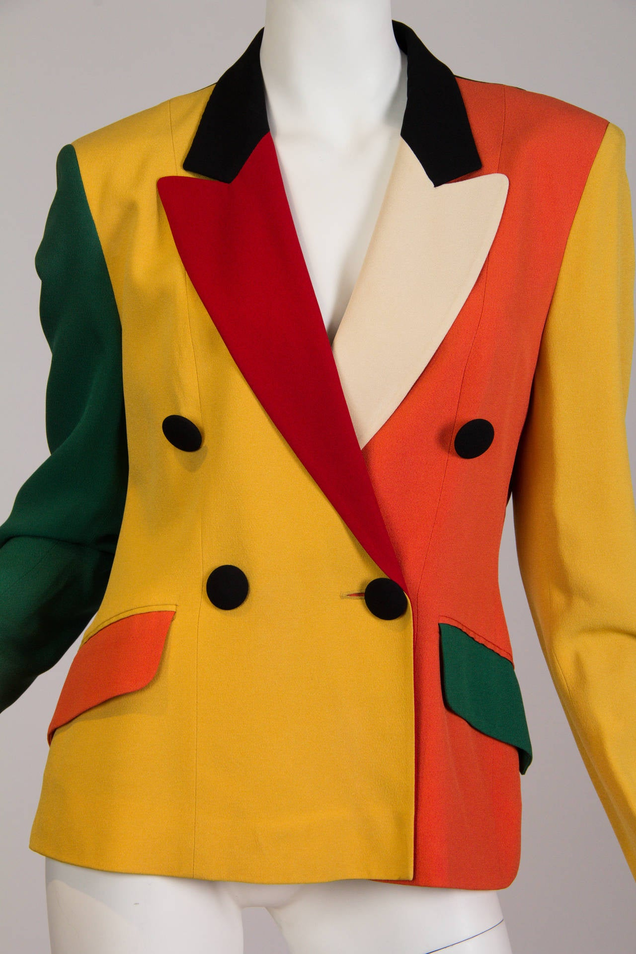 Moschino Colour-Blocked Blazer 6