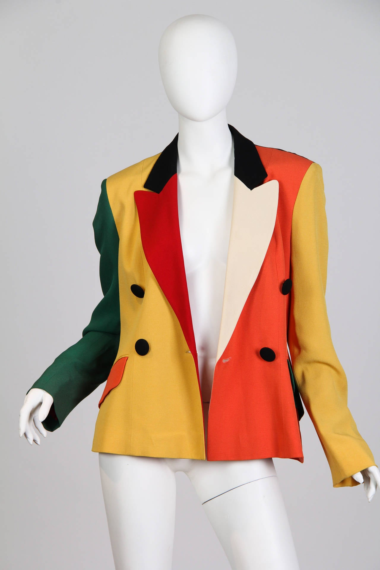 Moschino Colour-Blocked Blazer 2