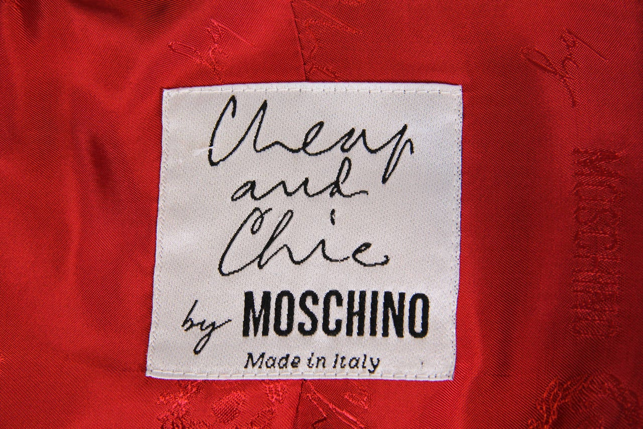 Moschino Colour-Blocked Blazer 10