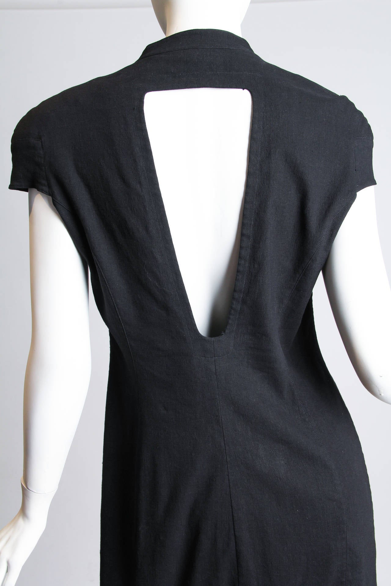 Mugler by Thierry Mugler Cotton LBD For Sale 3