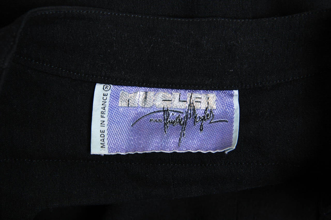 Mugler by Thierry Mugler Cotton LBD For Sale 5
