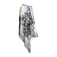 Kansai Yamamoto Asymmetrical Skirt