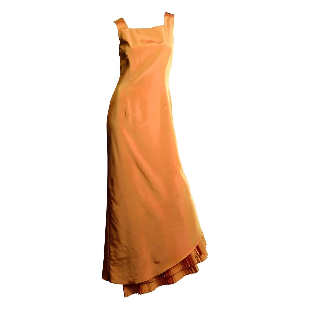 Gianfranco Ferre Studio Taffeta Gown