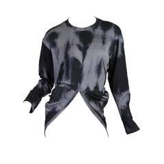 Issey Miyake Permanente Tie-Dye Punk Sweater