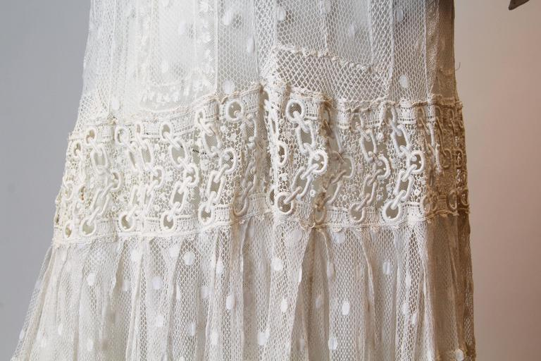 Late Victorian Lace Tea Dress 8