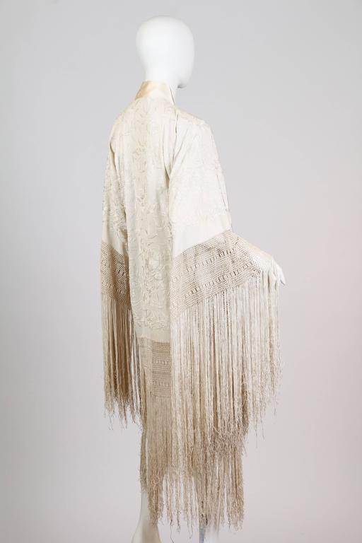 Early 1920s Piano Shawl at 1stdibs