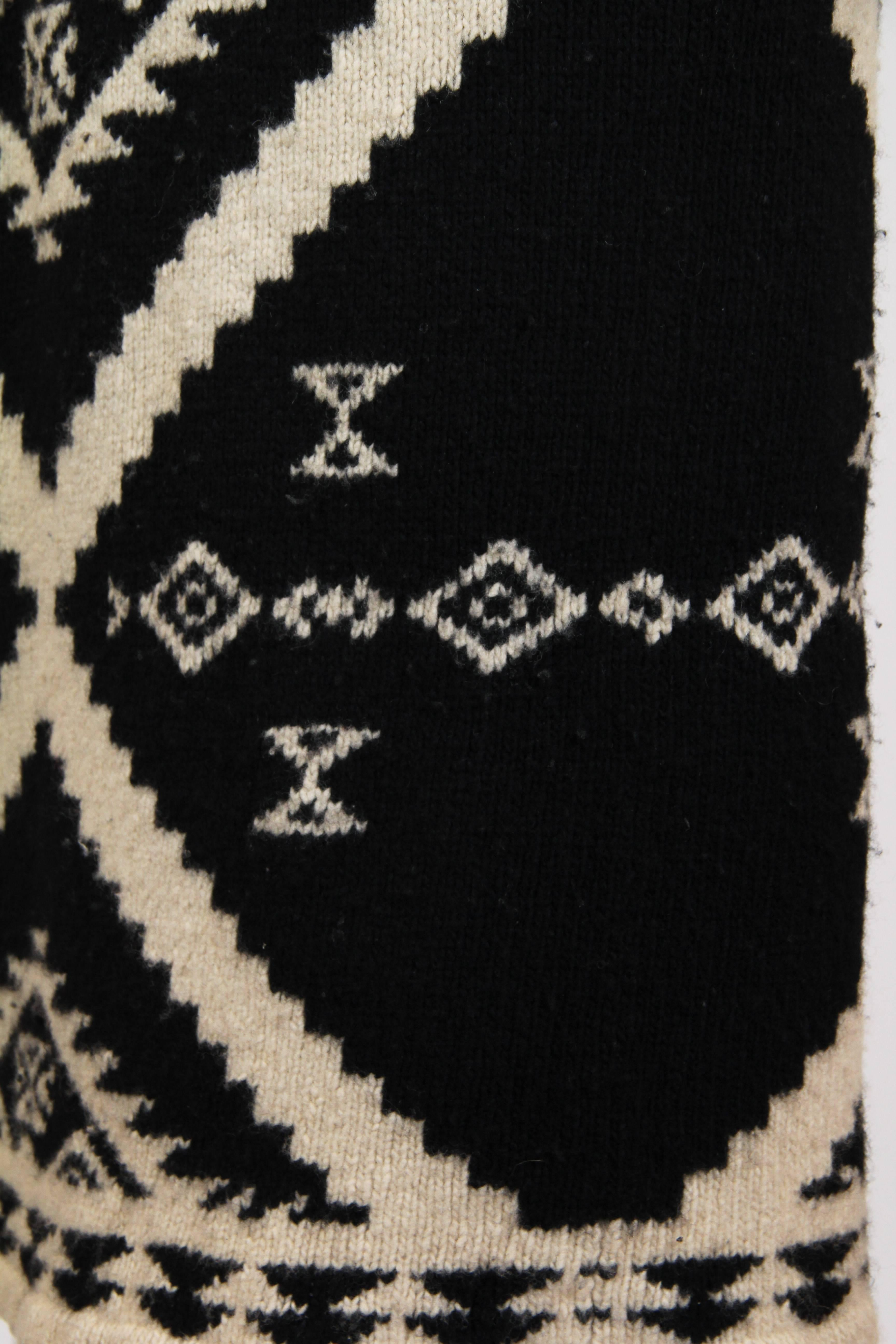 bcca0a14e Ralph Lauren Native American inspired Sweater at 1stdibs