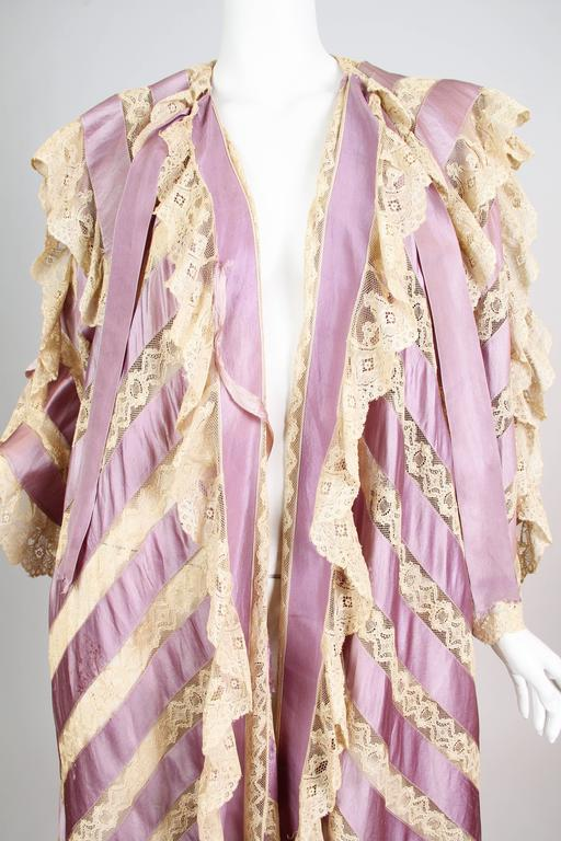 Belle Epoch Ribbon and Lace Duster 5