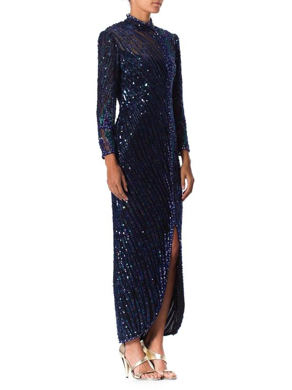 Women's Bob Mackie Beaded Gown For Sale