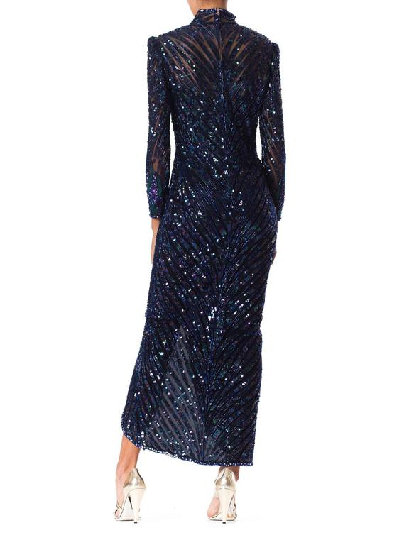 Bob Mackie Beaded Gown For Sale 2
