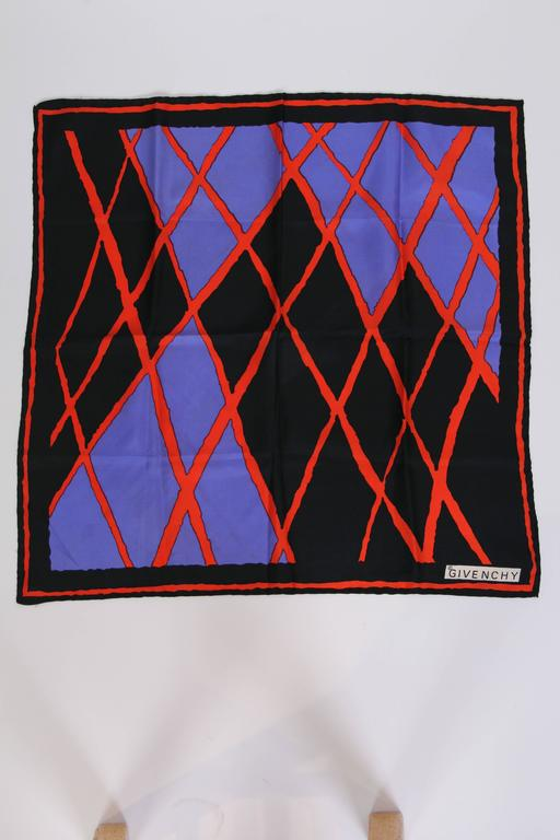 Givenchy Silk Scarf 4