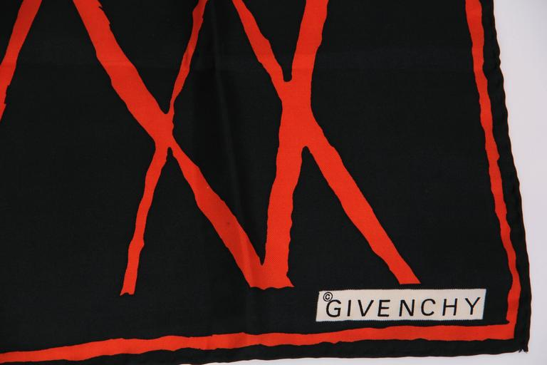 Givenchy Silk Scarf 5