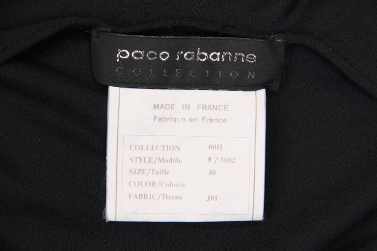 Paco Rabanne Jersey Halter Dress For Sale 4