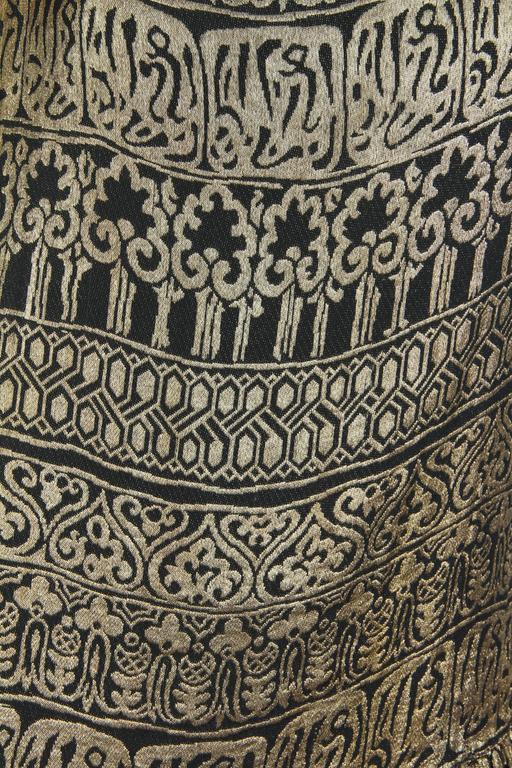 1920s Lamé Dress with Sanskirt 9