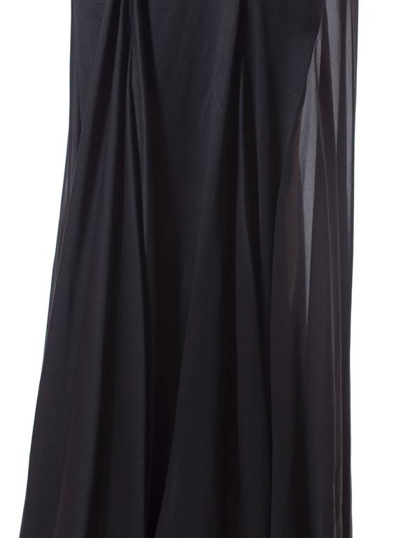 Versace Sheer Paneled Gown 9