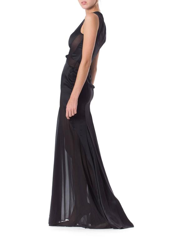 Versace Sheer Paneled Gown 4