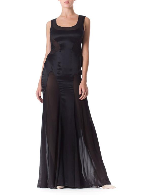 Versace Sheer Paneled Gown 2