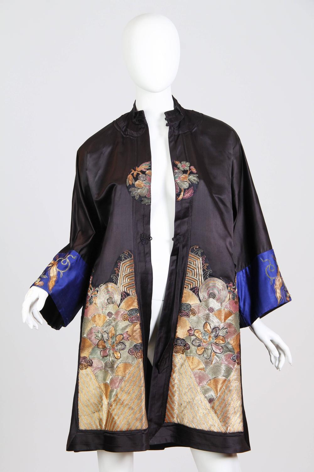 Antique Chinese Embroidered Jacket For Sale At 1stdibs