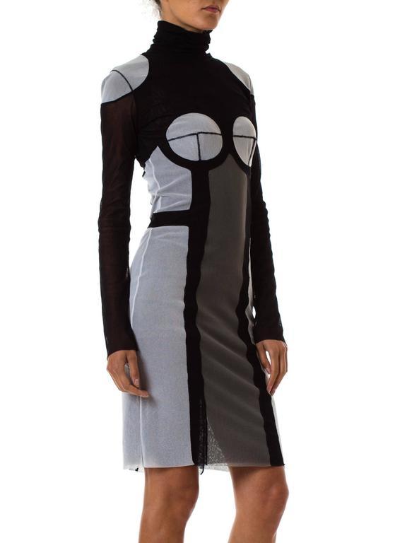 Black Jean Paul Gaultier Robot Dress For Sale