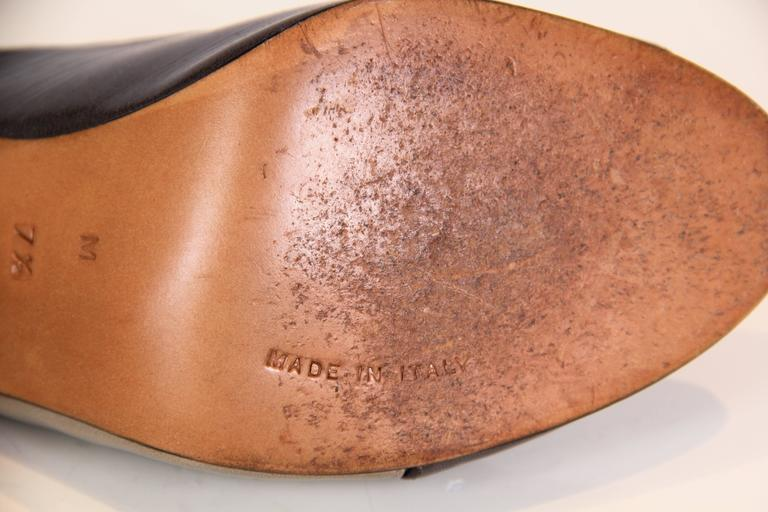 1970s Halston Peep-toe Heels 8