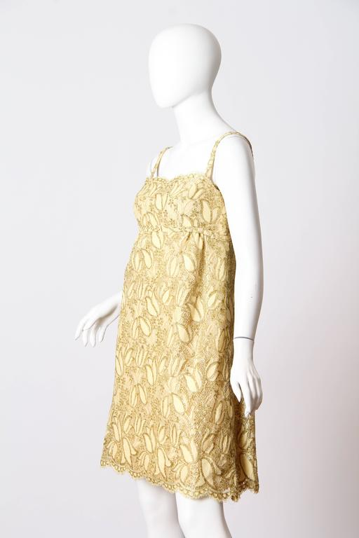 Shannon Rogers I.Magnin Lace Cocktail Dress 3