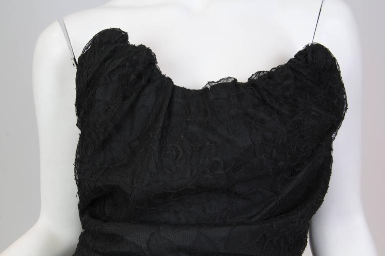 Chantilly Lace Vivienne Westwood Gold Label Corset For Sale 3