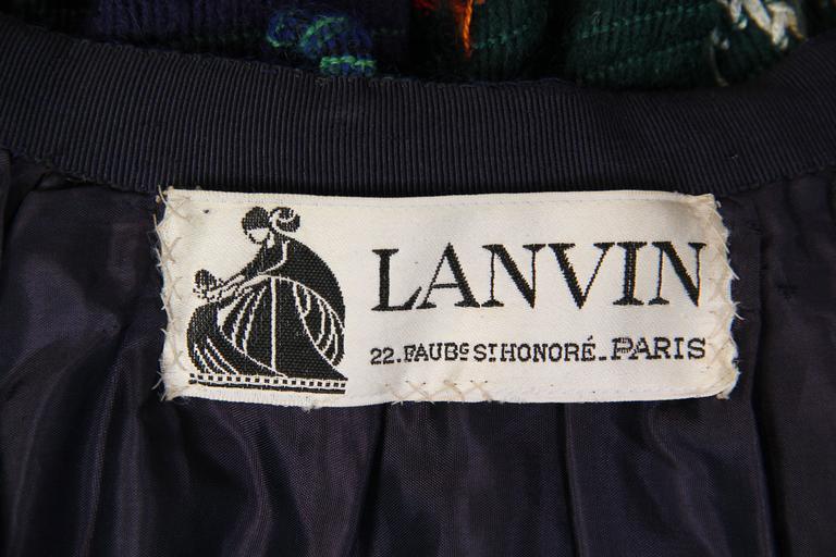 1970s Lanvin Boho Skirt 10