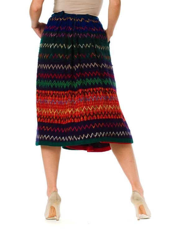 1970s Lanvin Boho Skirt 6