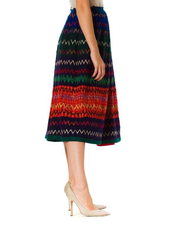 1970s Lanvin Boho Skirt 5
