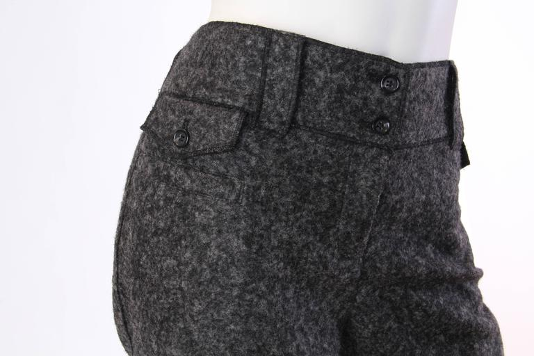 Women's or Men's Dolce and Gabbana Cashmere Trousers For Sale