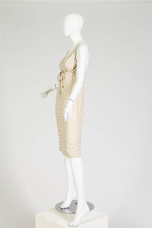1960s Beaded Silk Dress from Larry Aldrich 6