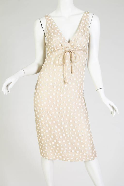 1960s Beaded Silk Dress from Larry Aldrich 7