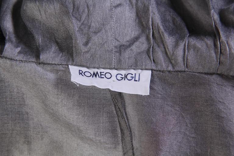 1990s Romeo Gigli Jacket with Hood-Collar For Sale 5