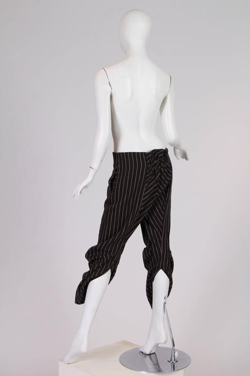 Vintage Vivienne Westwood Pirate Pants In Excellent Condition For Sale In New York, NY
