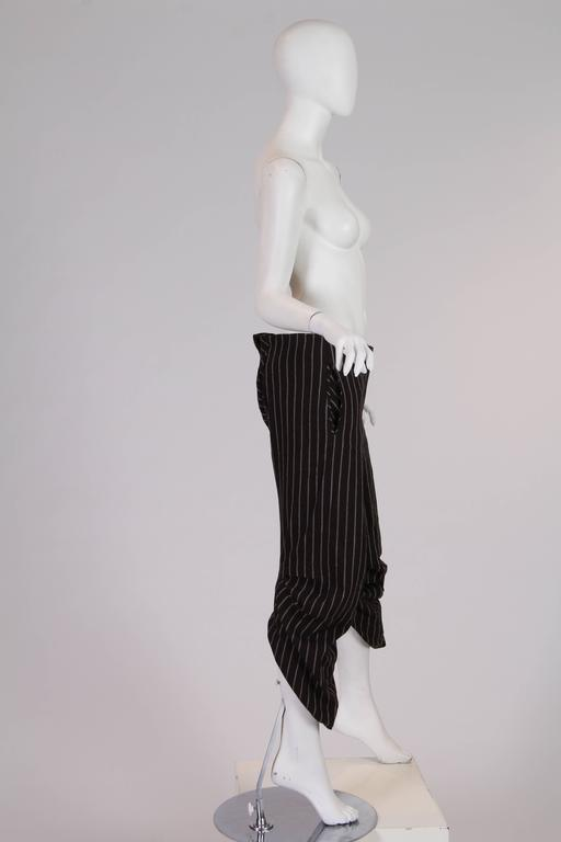Black Vintage Vivienne Westwood Pirate Pants For Sale