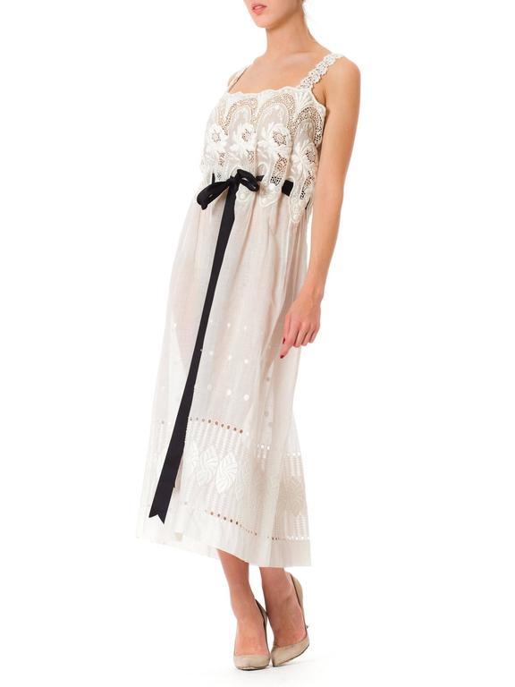 Edwardian Lace Dress For Sale 3