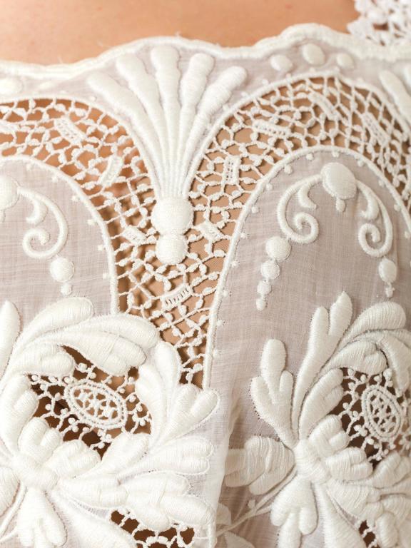 Edwardian Lace Dress For Sale 4