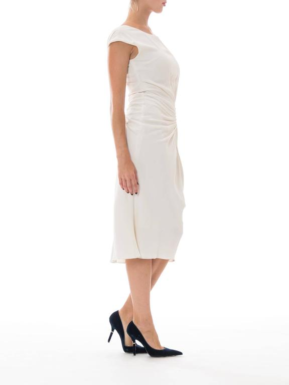 Christian Dior by John Galliano White Dress In Excellent Condition For Sale In New York, NY