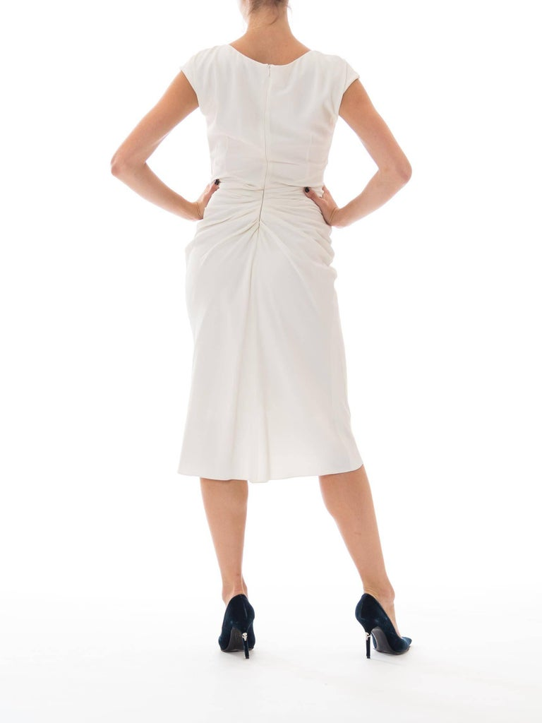 Women's Christian Dior by John Galliano White Dress For Sale