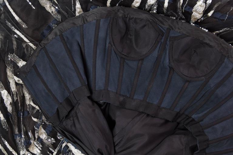 Oscar De La Renta Beaded Tulle Gown For Sale 4