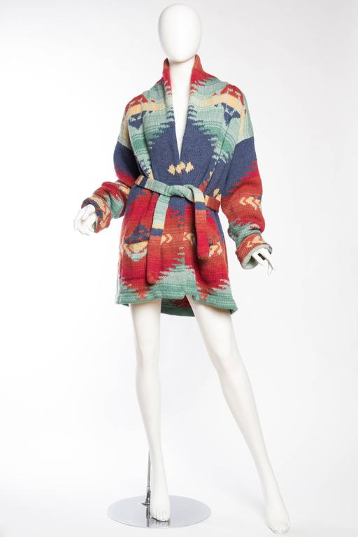 bc29232e2 Ralph Lauren Hand-Knit native American Inspired Sweater We currently have  two sizes in stock