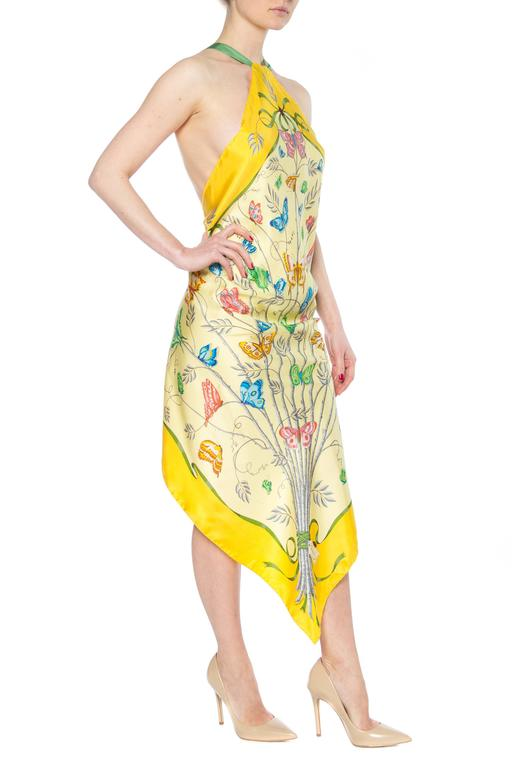 Vintage Floral Gucci Scarf Top 3