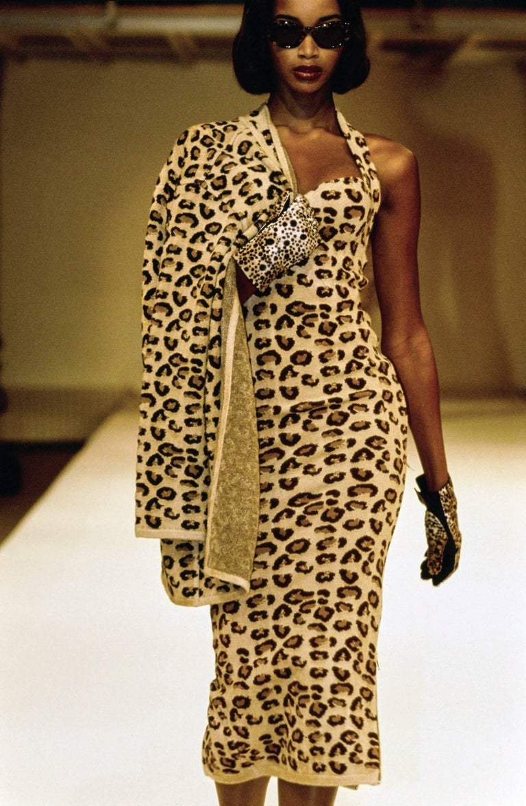 Iconic 1991 leopard collection dress by alaia for sale at for Designer alaia azzedine